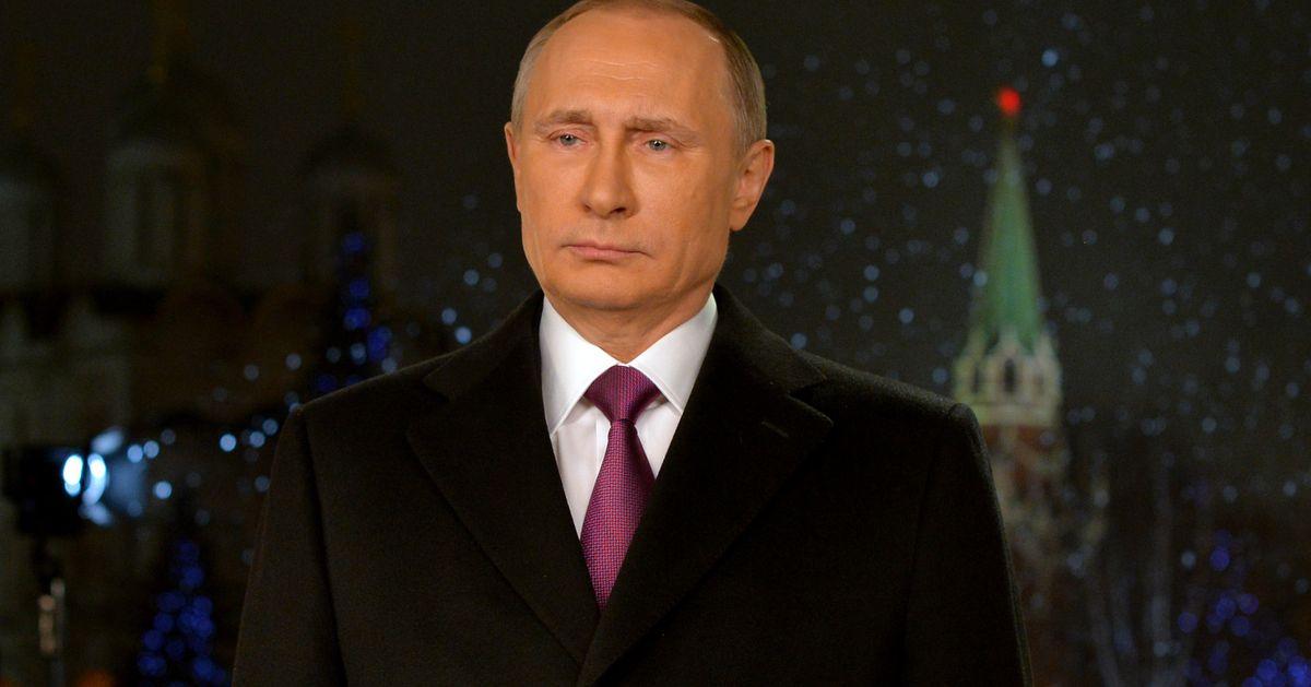 Путин новый год обращение 2017