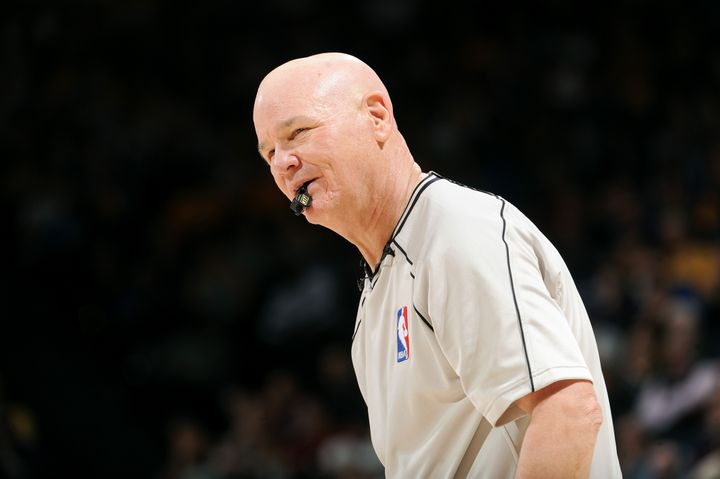 Joey Crawford was suspended in 2007 after San Antonio Spurs star Tim Duncan said he challenged him to a fight.
