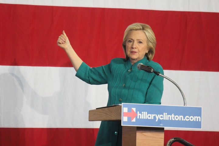 Hillary Clinton makes a trip to the Hawkeye State for her first major campaign rally in Des Moines on June 14, 2015.