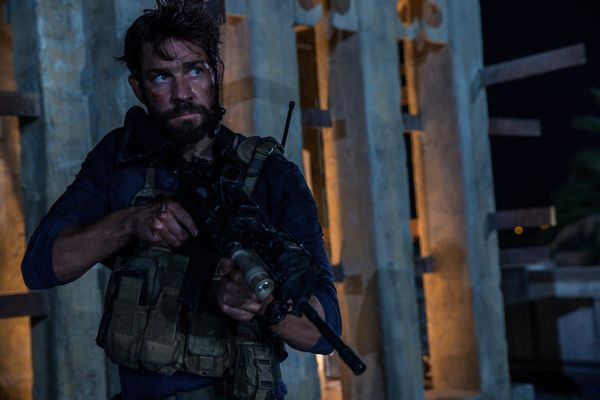 Written by Chuck Hogan • Directed by Michael Bay<br><br>Starring John Krasinski, James Badge Dale, Pablo Schre