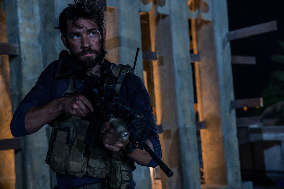 Written by Chuck Hogan&nbsp;&bull; Directed by&nbsp;Michael Bay<br><br>Starring John Krasinski, James Badge Dale, Pablo Schre