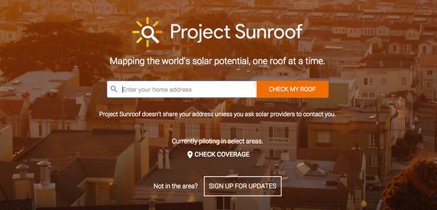 Google S Project Sunroof Could Help You Save Money On