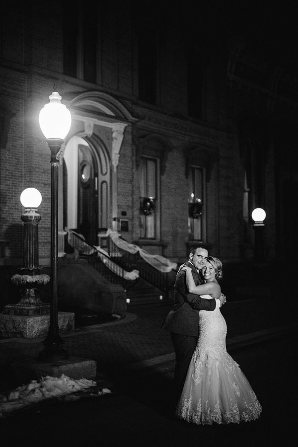 """""""Virginia andMichaelgot married atCanfield Casino in Saratoga Springs, NY."""" -Tracey Buyce"""