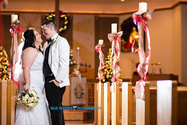 """""""Angela and Corey celebrated their marriage on December 31st at the Park Inn in Toledo Ohio. Congratulations to the new bride"""