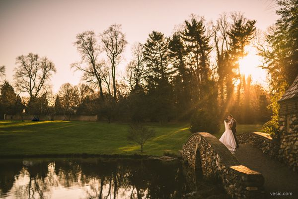 """""""The sun sets on Merét andTim's New Year's weekend wedding yesterday at<a href=""""https://www.facebook.com/T"""