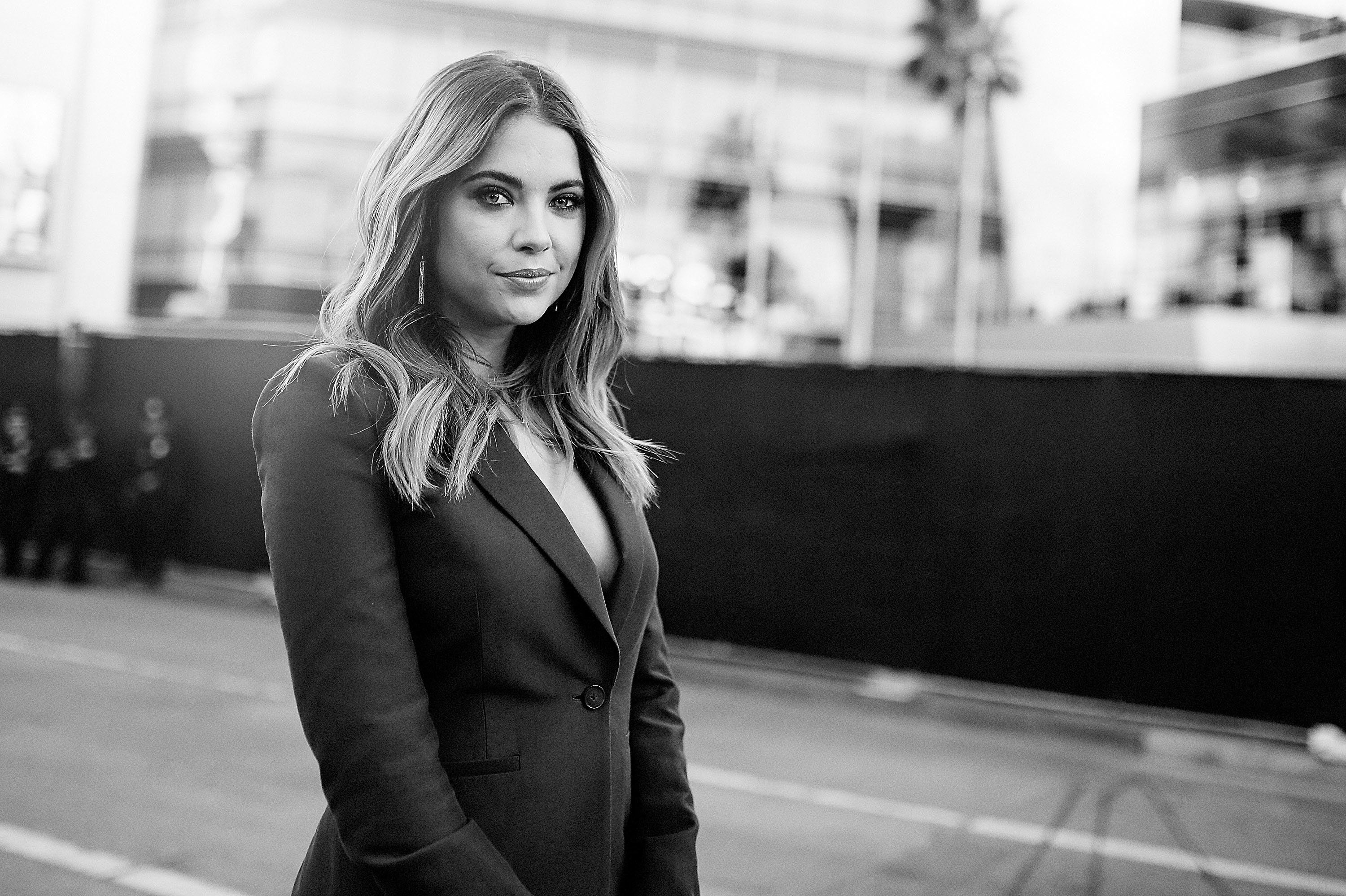 LOS ANGELES, CA - NOVEMBER 22:  (EDITORS NOTE: Image has been altered with digital filters) Actress Ashley Benson attends the 2015 American Music Awards at Microsoft Theater on November 22, 2015 in Los Angeles, California.  (Photo by Mike Windle/AMA2015/Getty Images for dcp)