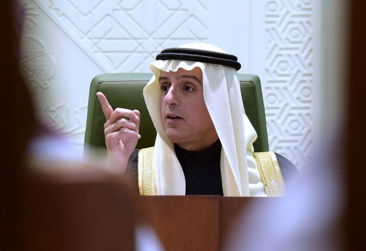 Saudi Minister of Foreign Affairs Jubeir made the announcement.