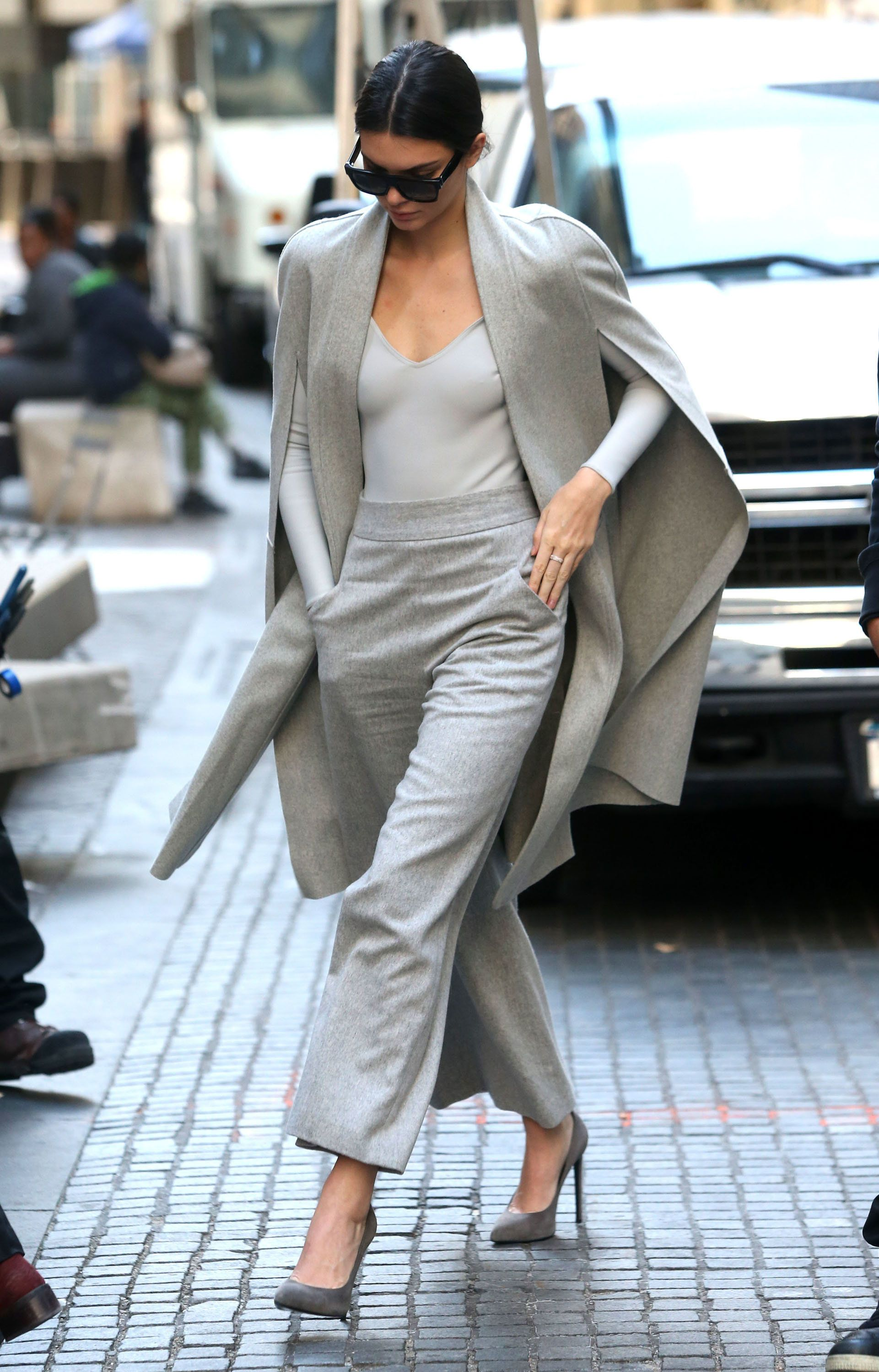 51883874 Reality star and model Kendall Jenner spotted out and about in New York City, New York on October 20, 2015. Kendall who has been claiming to be bullied by fellow models is now having to deal with one of those models, Madison Stubbington, claiming that she never said anything about Kendall but was just in the wrong place at the wrong time and it was another model who said rude comments to Kendall. FameFlynet, Inc - Beverly Hills, CA, USA - +1 (310) 505-9876