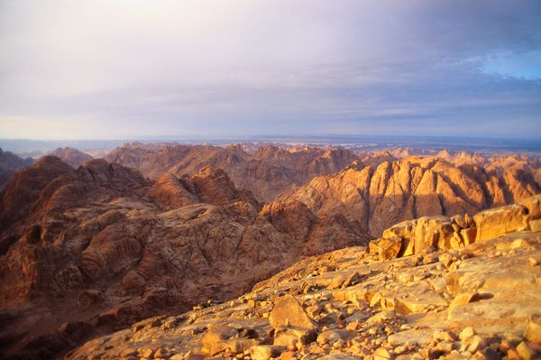 "Mt. Sinai is considered to be the <a href=""http://www.britannica.com/place/Mount-Sinai-mountain-Egypt"">site</a> where God rev"