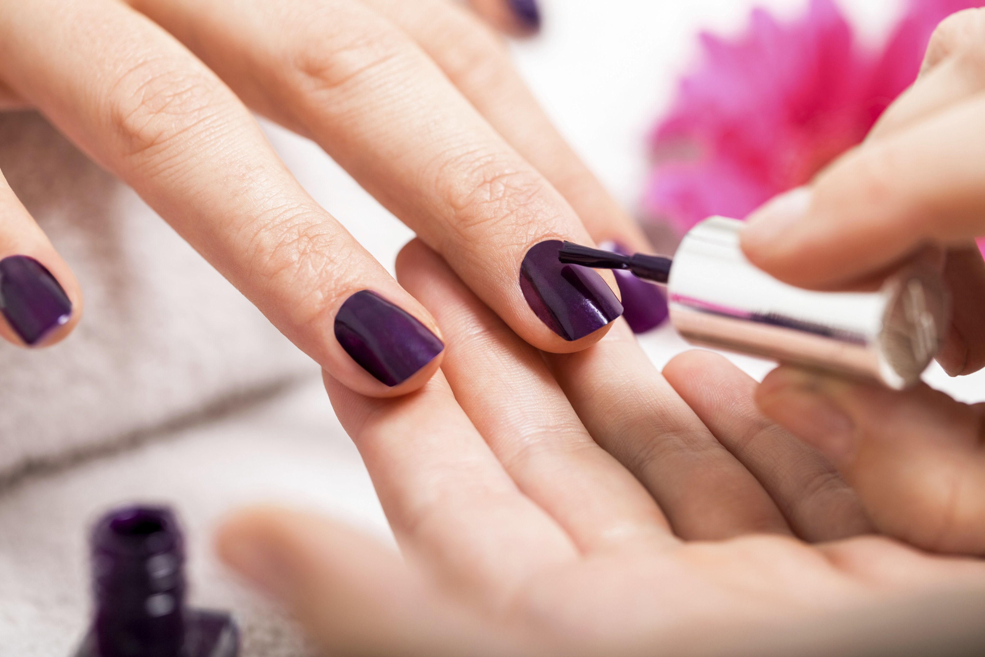 13 dark nail polish colors to try that aren't black | huffpost