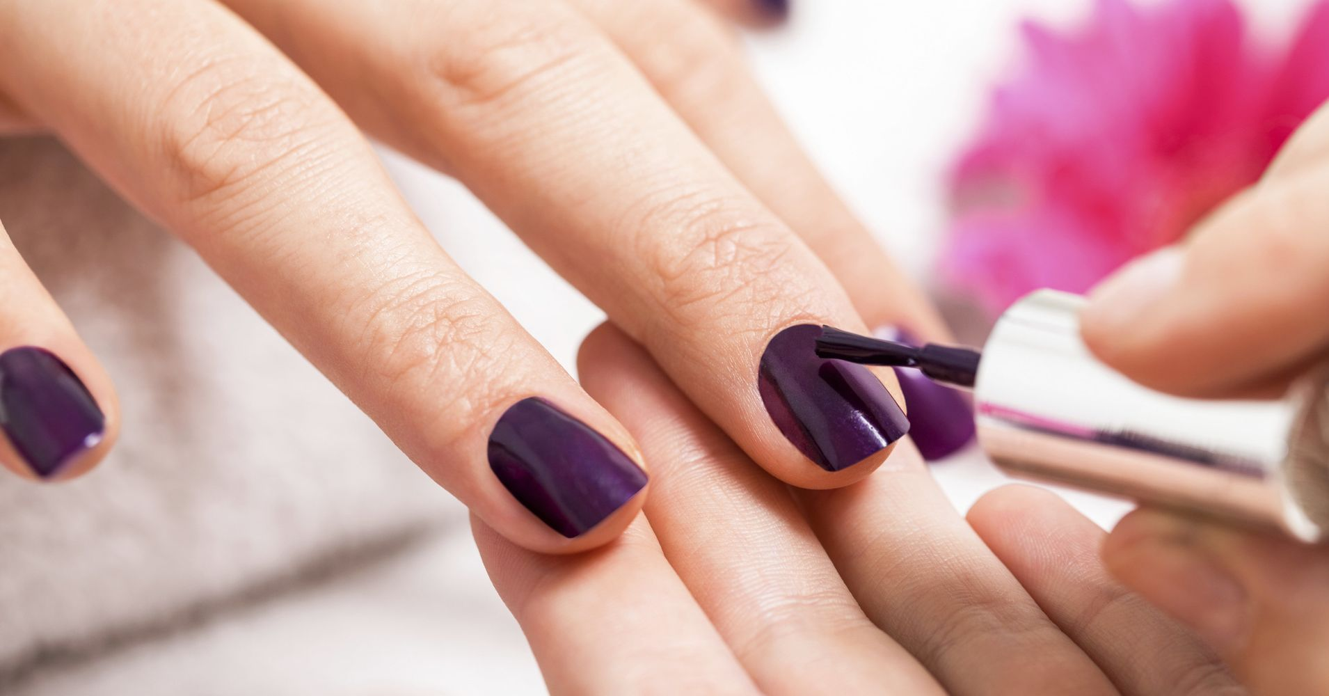13 Dark Nail Polish Colors To Try That Aren\'t Black | HuffPost
