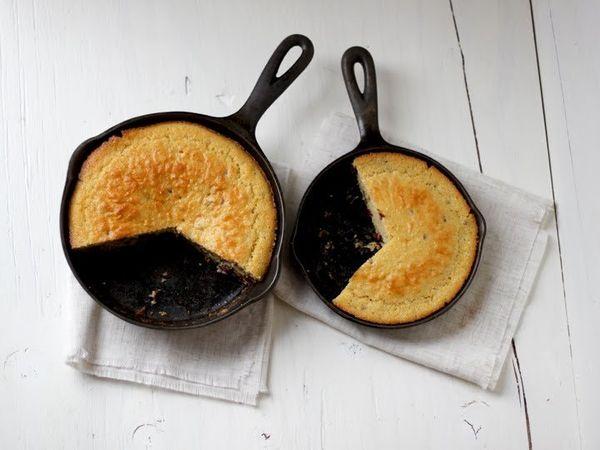 "<strong>Get the <a href=""http://www.alwayswithbutterblog.com/cranberry-raisin-cornbread/"">Cranberry and Raisin Cornbread reci"
