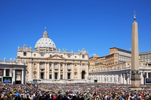 "<a href=""http://www.britannica.com/topic/Saint-Peters-Basilica"">St. Peter's Basilica</a> is a major pilgrimage&nbsp;site for"
