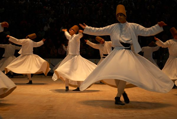 "Every December, Turkey's <a href=""https://www.fest300.com/festivals/mevlana-whirling-dervishes"">Whirling Dervishes</a>&nbsp;("
