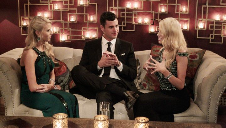 """On """"The Bachelor,"""" two twins are better than one."""
