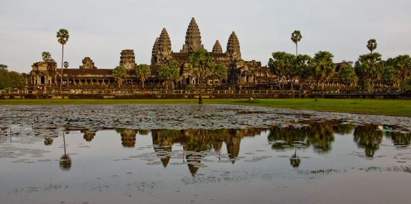 "This <a href=""http://whc.unesco.org/en/list/668"">massive archaeological site</a>&nbsp;in Siem Reap is over 400 square miles a"