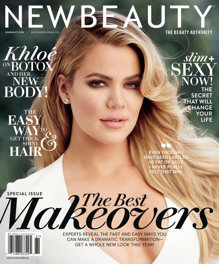 Khloe Kardashian Admits She Dyed Her Hair Dark To Fit In With Her