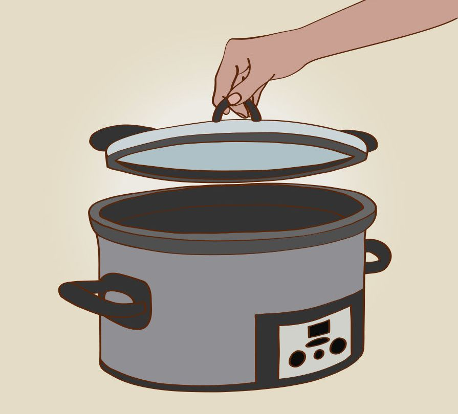 Here's the thing about peeking inside: Every time you take the top off to sniff or stir, the temperature inside the pot drops