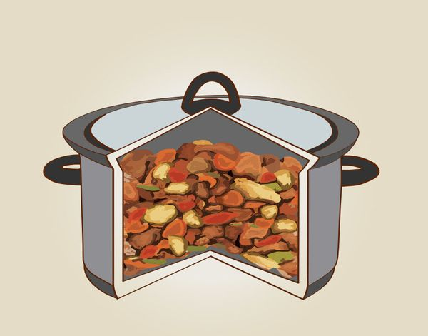 We've seen this advice in countless slow-cooker recipes, and O'Dea explains why: The cooking time is partially determined by