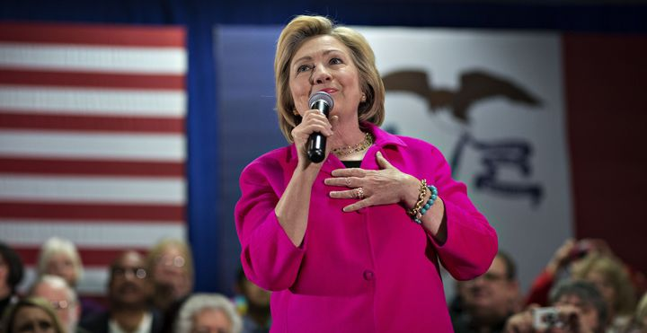 Hillary Clinton, former Secretary of State and 2016 Democratic presidential candidate, received NARAL Pro-Choice America's en