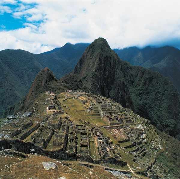 "Machu Picchu&nbsp;was built by the ancient Incans&nbsp;<a href=""http://www.pbs.org/wgbh/nova/ancient/wright-inca-engineering."