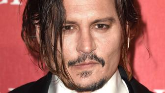 PALM SPRINGS, CA - JANUARY 02:  Johnny Depp arrives at the 27th Annual Palm Springs International Film Festival Awards Gala at Palm Springs Convention Center on January 2, 2016 in Palm Springs, California.  (Photo by Steve Granitz/WireImage)