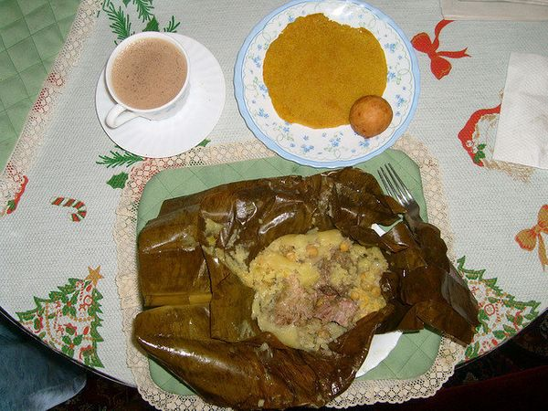 Tamales from the Tolima department are a delicious breakfast enjoyed all across the country. In Colombia, where bananas aboun