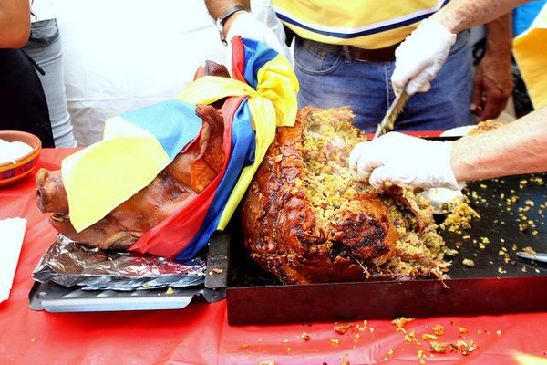 Whether its celebrating Independence Day or Christmas, Lechona is a ridiculously popular dish – nay, an event -- across the c