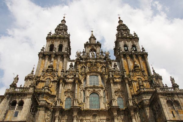 "This Spanish cathedral is the final stop on the Camino del Santiago (<a href=""http://www.galiciaguide.com/Camino-de-Santiago."