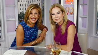 TODAY -- Pictured: (l-r) Hoda Kotb, Kathie Lee Gifford -- (Photo by: Heidi Gutman/NBC/NBC NewsWire via Getty Images)