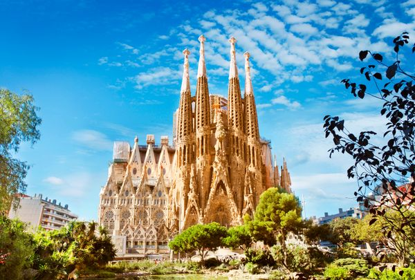 Sagrada Familia (officially known as the Expiatory Temple of the Holy Family) is the life work of architect Antoni