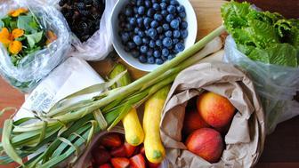 Vegetables on the farmer market