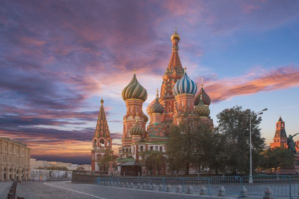 "Saint Basil&rsquo;s Cathedral in Moscow, Russia is a <a href=""http://www.lonelyplanet.com/russia/moscow/sights/religious/st-b"