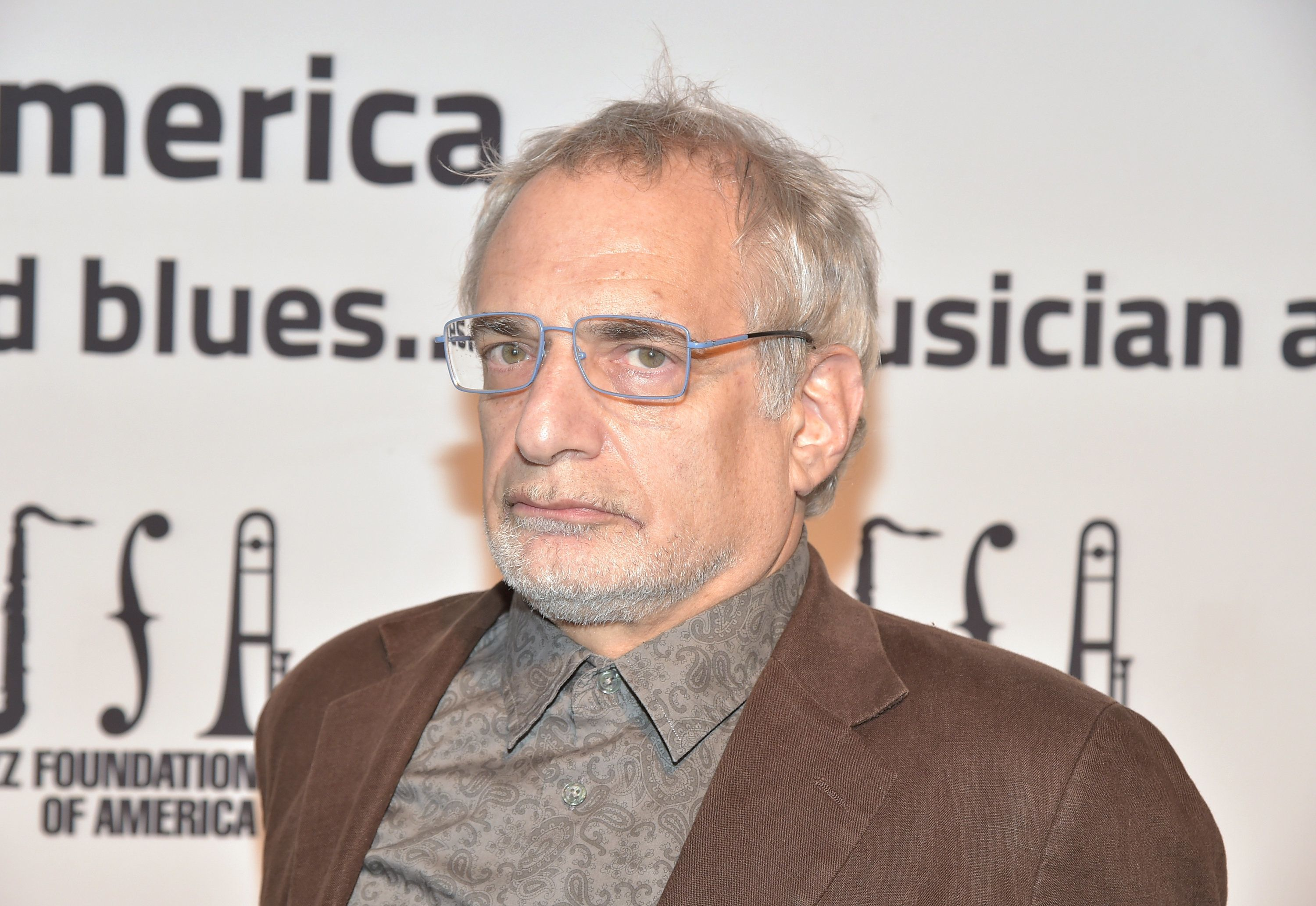 NEW YORK, NY - OCTOBER 22: Donald Fagen attends The Jazz Foundation of America Presents the 14th Annual 'A Great Night in Harlem' Gala Concert to Benefit Their Jazz Musicians Emergency Fund Saving Jazz, Blues and R & B....One Musician at a Time - Red Carpet at The Apollo Theater on October 22, 2015 in New York City.  (Photo by Theo Wargo/Getty Images for The Jazz Foundation of America)