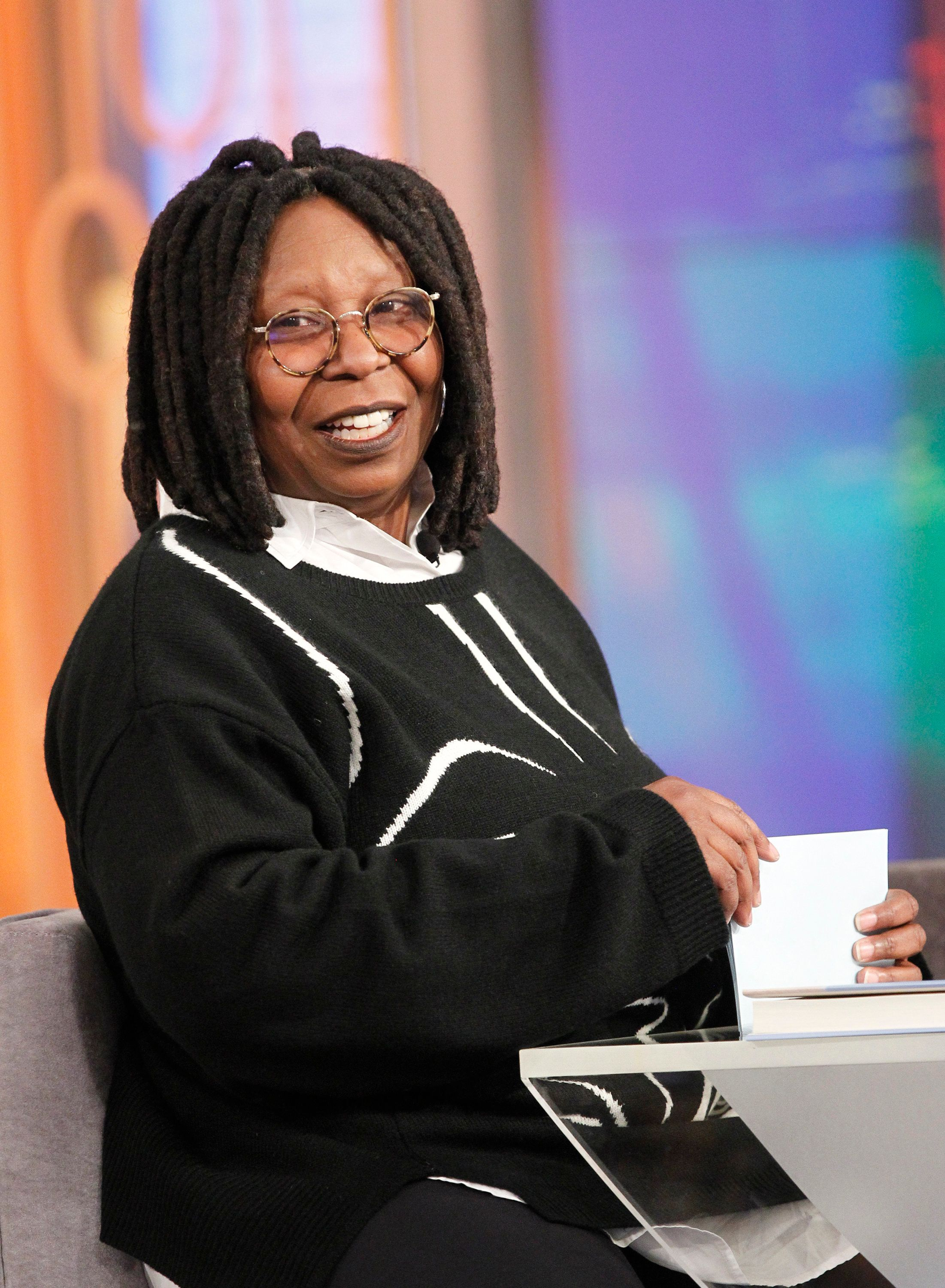 THE VIEW - George Takei, Al Roker and Deborah Roberts are today's guests on 'THE VIEW,' 1/5/16 (11:00 a.m. - 12:00 noon, ET) airing on the ABC Television Network.   (Photo by Lou Rocco/ABC via Getty Images) WHOOPI GOLDBERG
