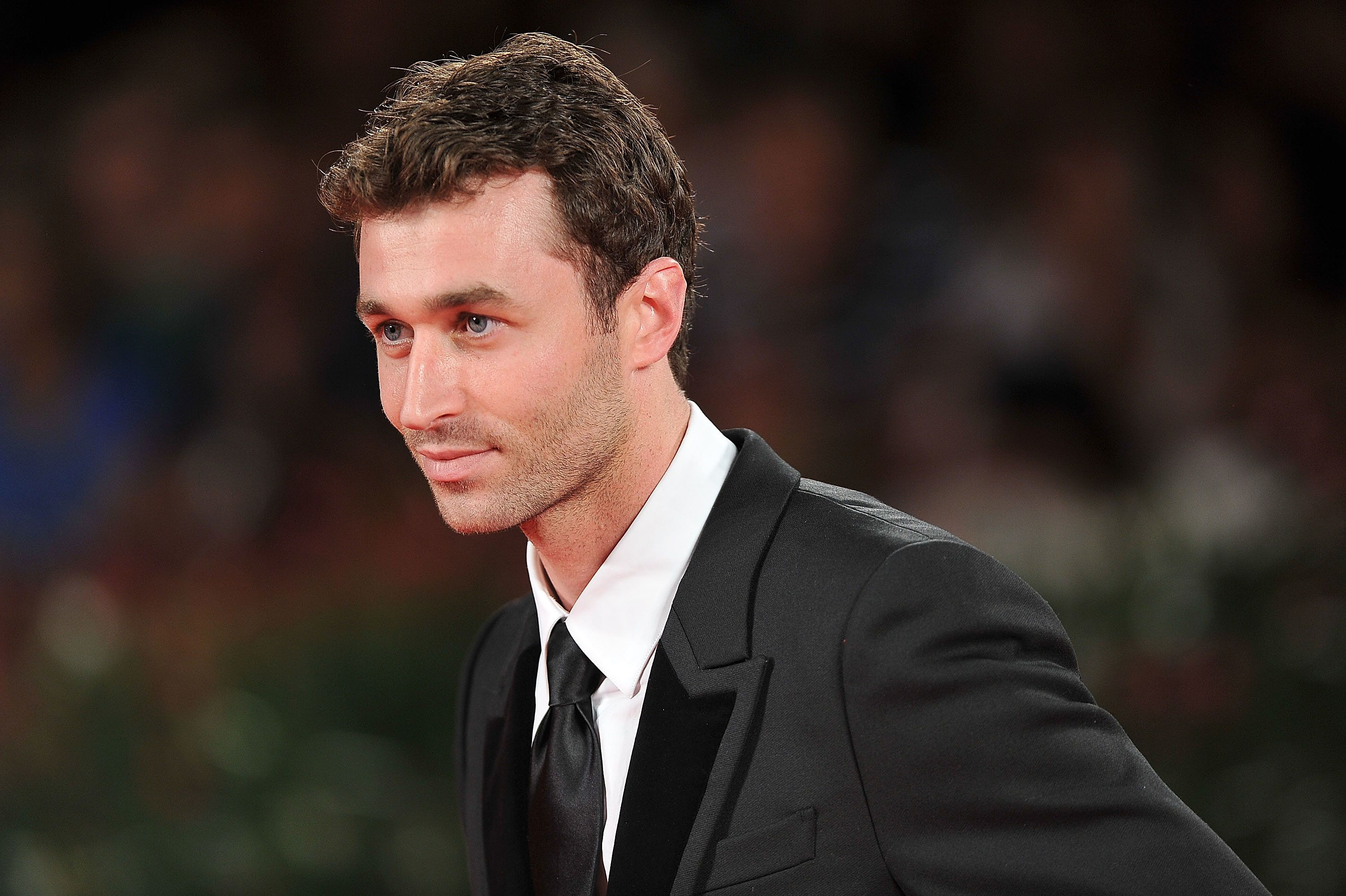 VENICE, ITALY - AUGUST 30:  James Deen attends 'The Canyons' Premiere during The 70th Venice International Film Festival at Palazzo Del Cinema on August 30, 2013 in Venice, Italy.  (Photo by Stefania D'Alessandro/WireImage)
