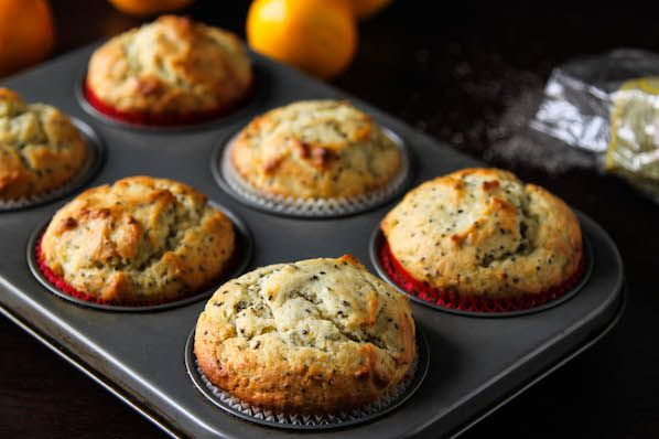 "<strong>Get the <a href=""http://thecornerkitchenblog.com/healthier-meyer-lemon-chia-seed-muffins/"" target=""_blank"">Meyer Lemo"