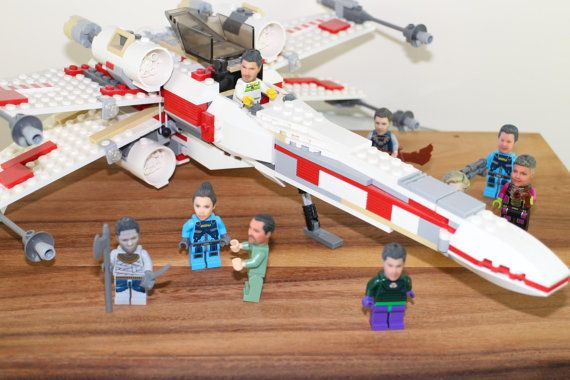 You,too, can fly an X-wing Starfighter from Star Wars. Or at least the Lego version of you can.