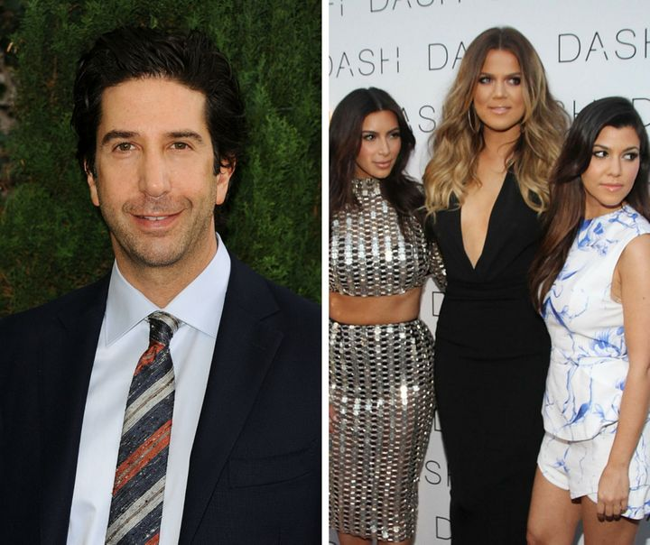"David Schwimmer didn't think it was ""necessary"" to speak to the Kardashian sisters about their late father."