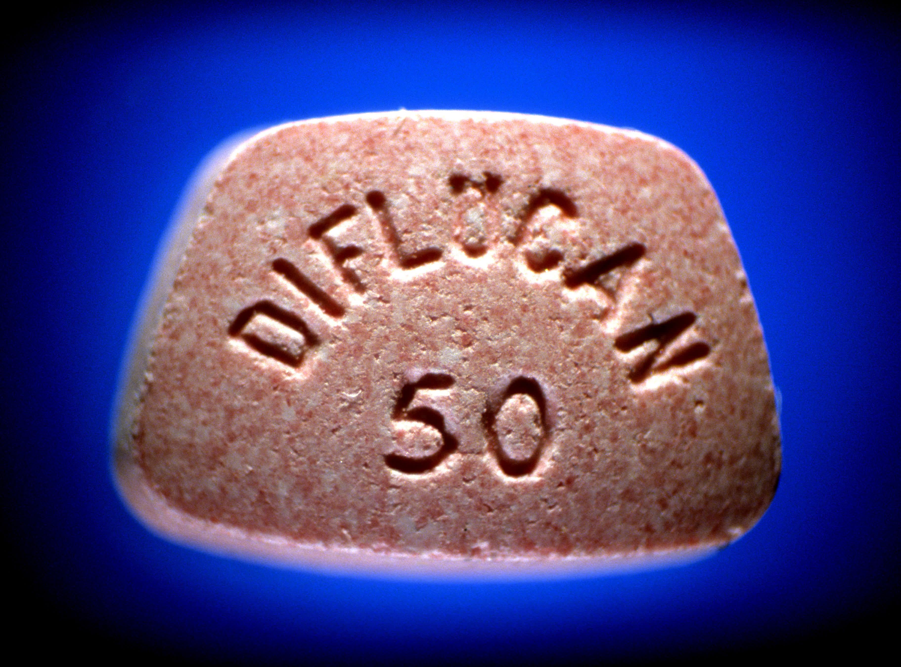 Diflucan (Flucanazole) 100 mg tablet