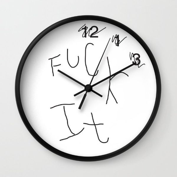 23 Wall Clocks That Nail Your Hatred For Your Morning