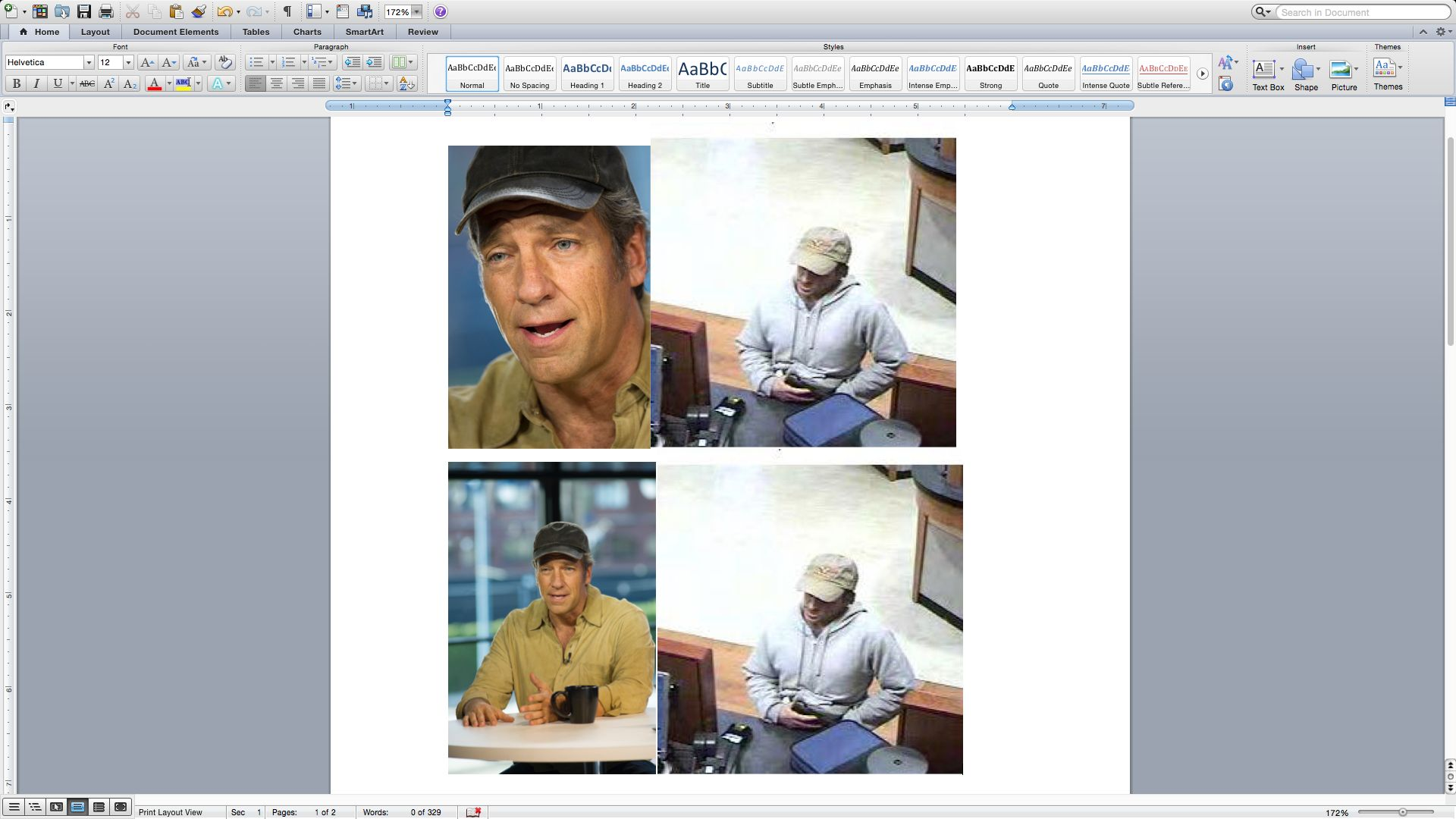 """Mike Rowe, host of TV show """"Dirty Jobs,"""" has denied being an elusive Oregon bank robber after Internet finger pointing."""