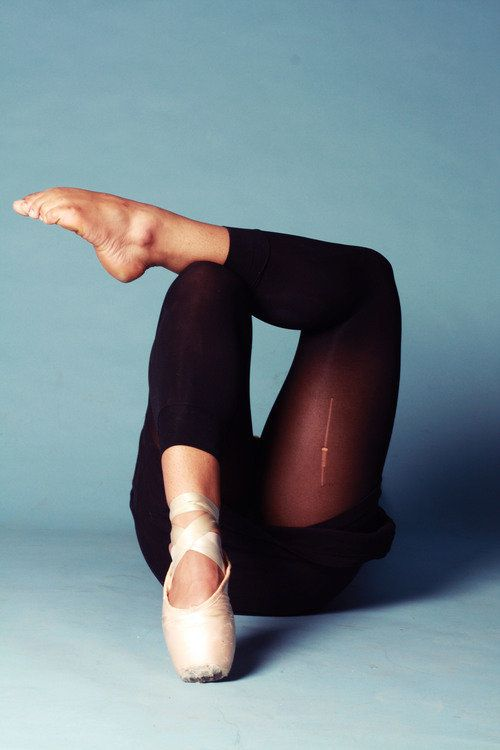 """The essence I embrace is my feet. My whole life I loved to dance, but people don't really understand how much work goes"