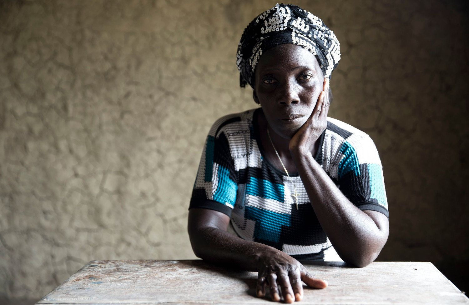 Photographer Daniel Jack Lyons traveled to West Africa in 2015 to document what life was like as an Ebola survivor. Hawa Sing