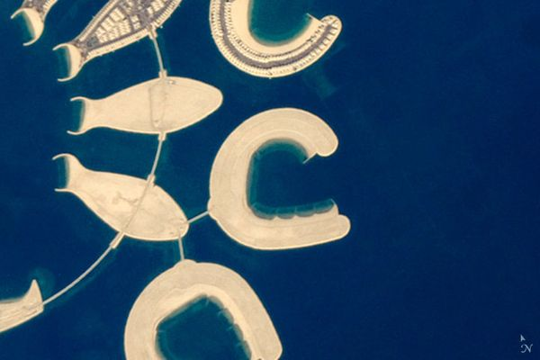 "The letter C, as shown by an astronaut's <a href=""http://earthobservatory.nasa.gov/IOTD/view.php?id=49117"">photo</a"