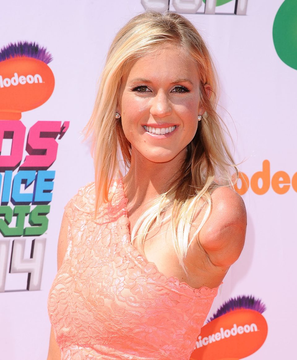 Surfer Bethany Hamilton attends the 2014 Nickelodeon Kids' Choice Sports Awards at Pauley Pavilion on July 17, 2014 in Los An