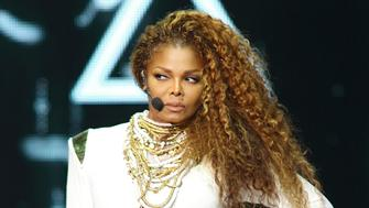 MIAMI, FL - SEPTEMBER 20:  Janet Jackson performs on stage during her 'Unbreakable' World Tour concert at AmericanAirlines Arena on September 20, 2015 in Miami, Florida.  (Photo by Alexander Tamargo/Getty Images)