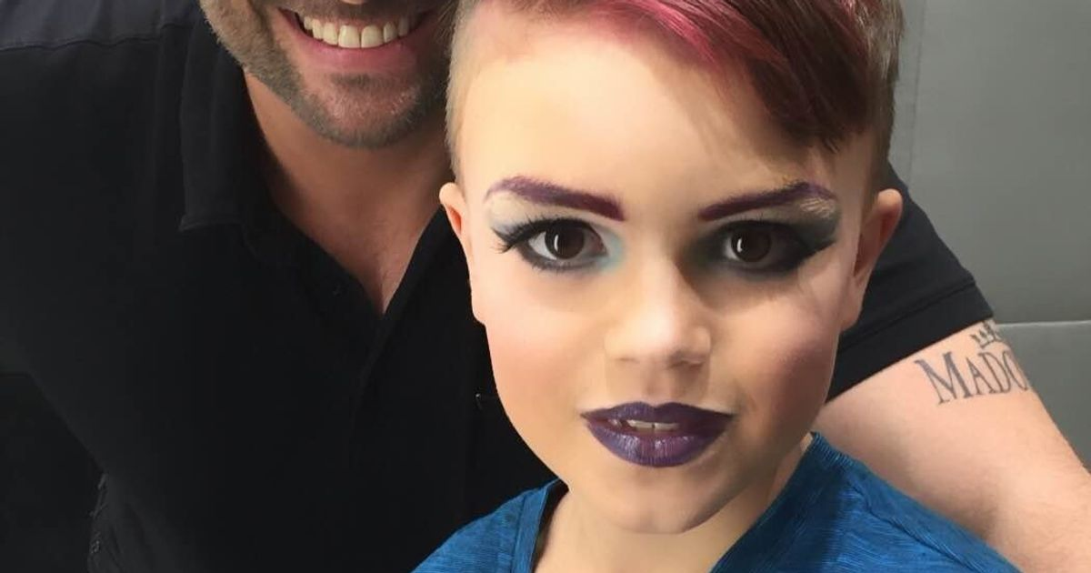how to turn a boy into a girl with makeup