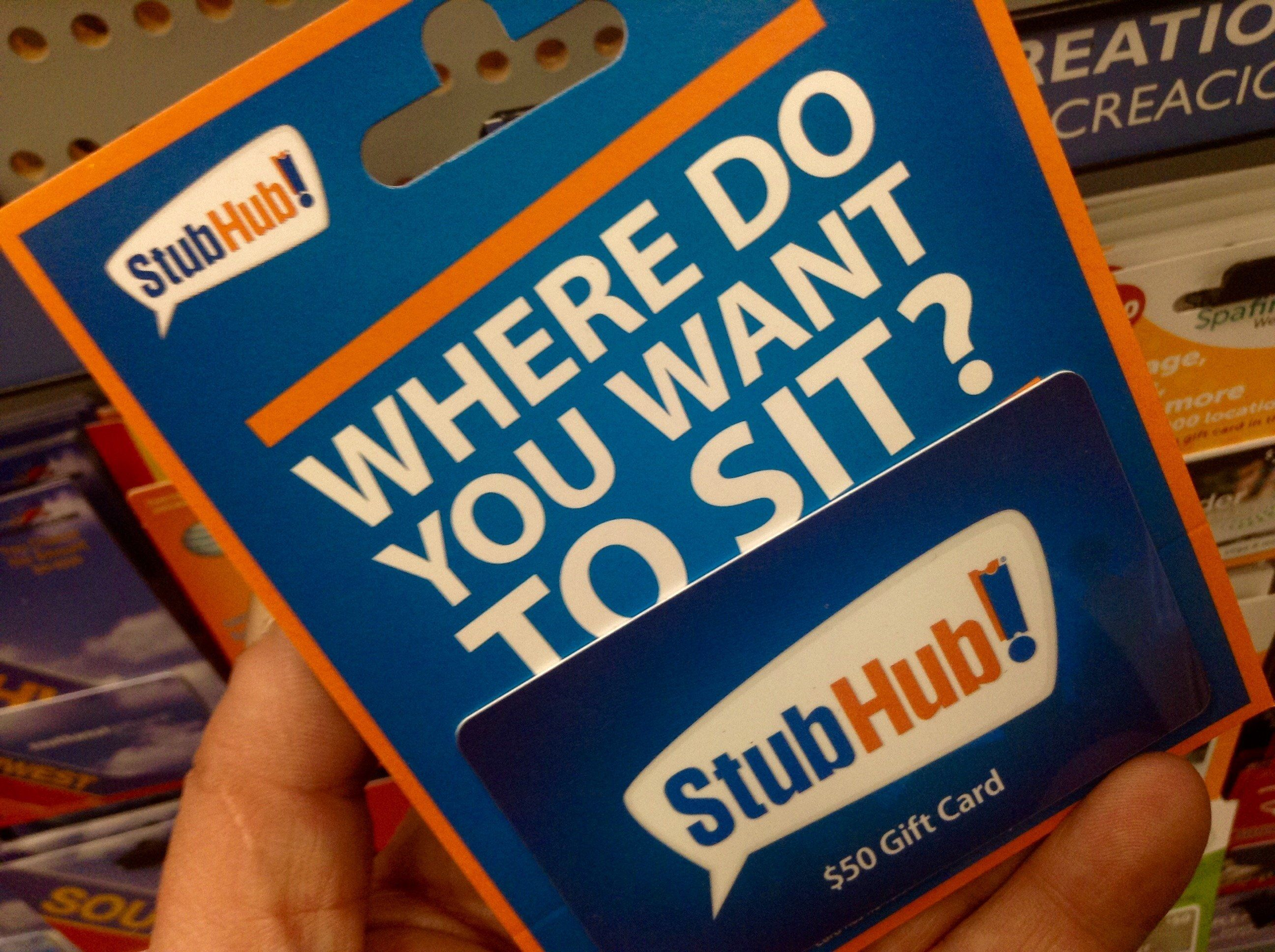 StubHub, Gift Card 1/2014, By Mike Mozart of TheToyChannel and JeepersMedia on YouTube #StubHub