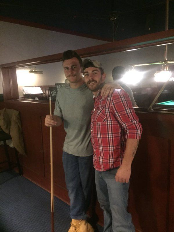 After an exhaustive search, Johnny Manziel was allegedly spotted playing pool at a Dave & Busters in Ohio on Wednesday ni